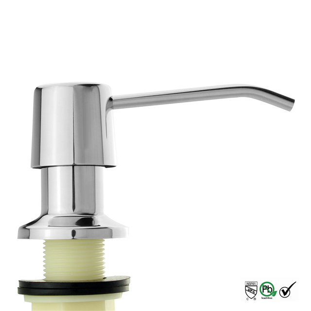 Polish Finish 304 Stainless Steel Kitchen Sink Liquid Soap ...