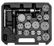 Disk brake pad and caliper installer removal tools set