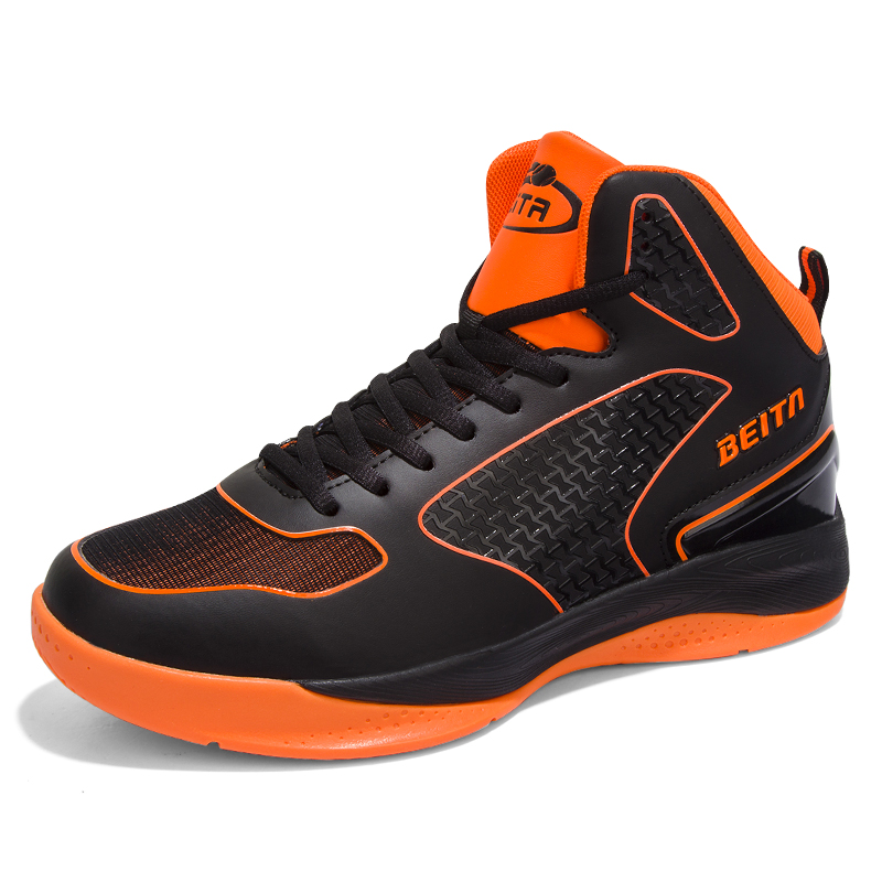 Basketball ShoesMen wear breathable shoe combat boots high student trainers and breathable wear sneakers  BSSRM9SB8