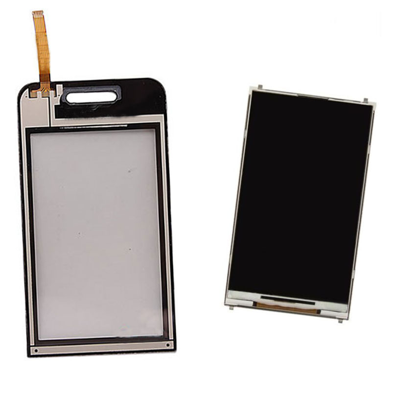 White For Samsung S5230 S5233 Touch Screen Digitizer Sensor Glass + LCD Display Screen Panel Monitor