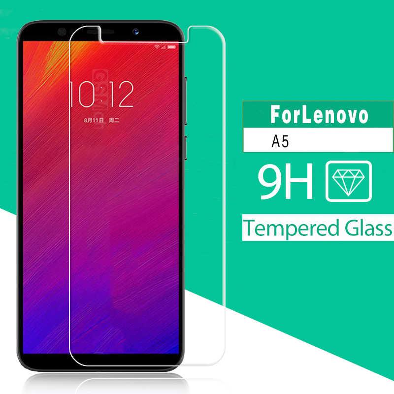 "2018 Baru Kedatangan Tempered Glass untuk Lenovo A5 5.45 ""Pelindung Layar Depan Kaca Film Ponsel Pelindung Cover"
