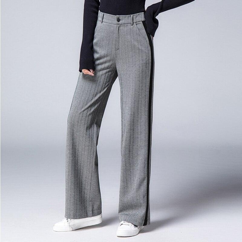 Ongekend glorious-her: Goede Koop Hoge Taille Elegante Broek Vrouwen Plus OB-93