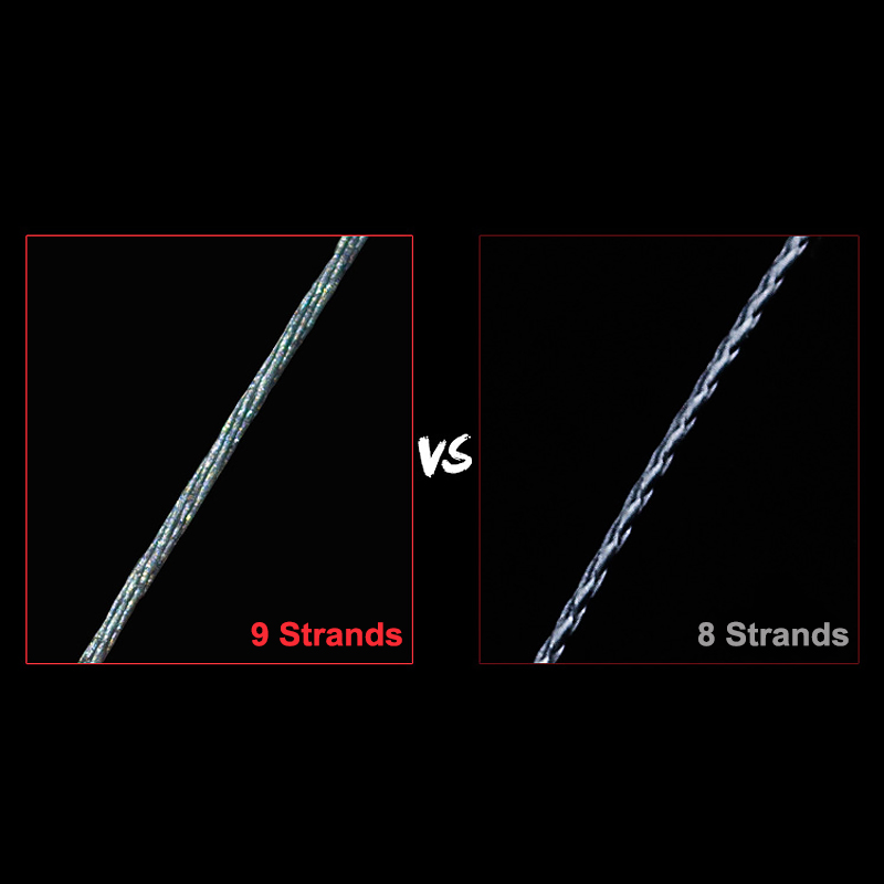 Image 4 - 100m PE Fishing Line 9 Strands Braided Fishing Line Multicolor Ultra high Strength Multifilament Fishing Gear Accessory JC-in Fishing Lines from Sports & Entertainment
