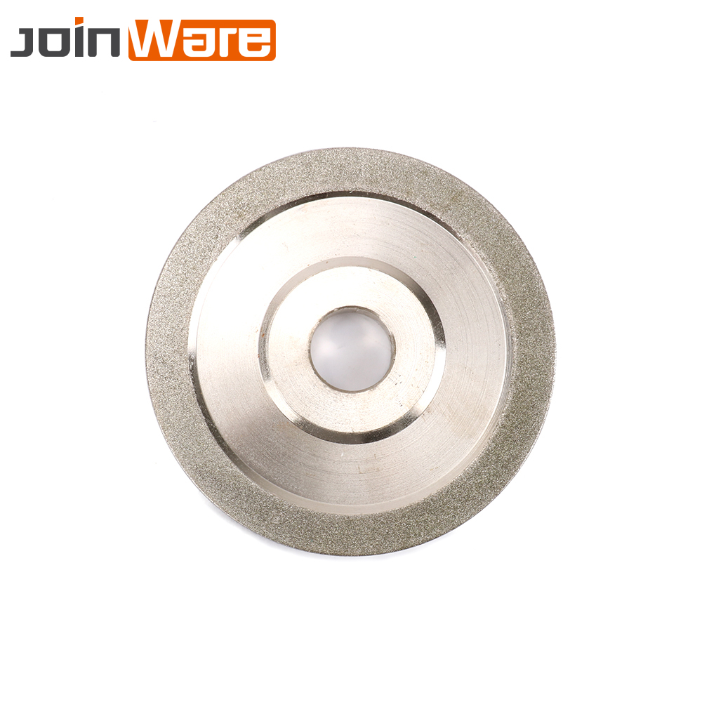 100MM 150MM Electroplated Diamond Grinding Wheel Alloy Grinder For Milling Cutter Tool Carbide Hard Steel Abrasive Tool 150Grit 100mm x 14mm x 32mm 12 teeth hard alloy ripping sawblade milling slotting cutter