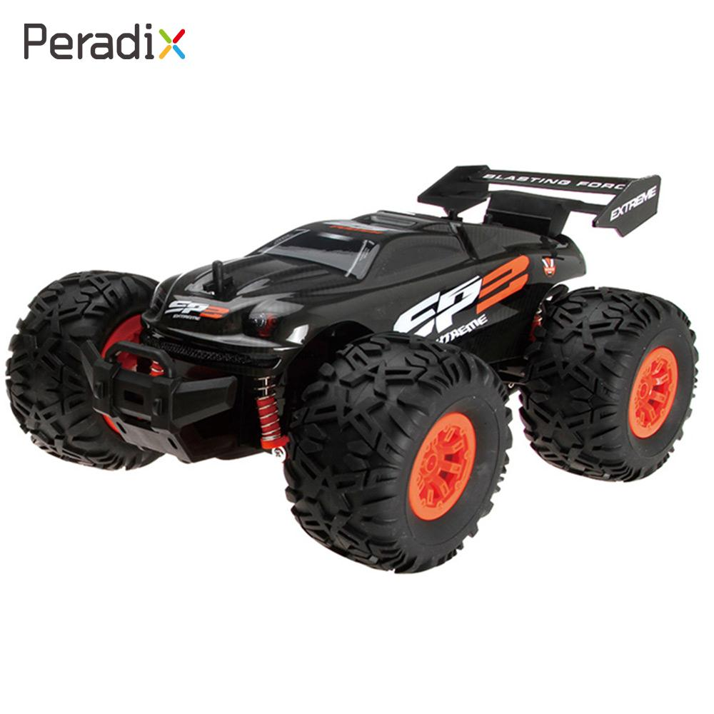 Peradix Fast Speed RC1/18 Racing RC Car 15Km/H Shaft Drive ABS 4CH 2WD Vehicle Remote Control Toy Climbing Car For Kid Gift