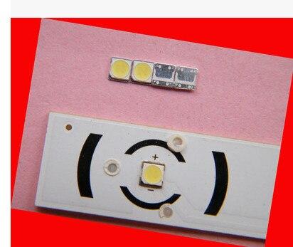 500 шт. для <font><b>LG</b></font> innotek <font><b>LED</b></font> Подсветка 2 Вт 6 В <font><b>3535</b></font> холодный белый ЖК-дисплей Подсветка для ТВ применение 2-чип