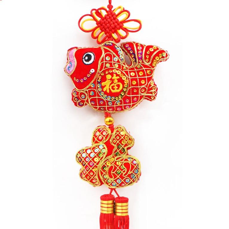 Navidad decoraciones festivas a o nuevo chino de la puerta - Adornos navidad por mayor ...