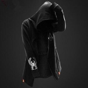 Image 3 - ZOGAA Gotik erkek hoodies Casual moda siyah hoodie 3 çeşit baskı tişörtü hip hop erkekler hoodie erkekler artı boyutu XS 4XL