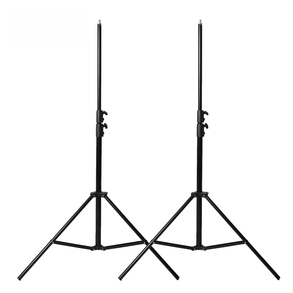 2pcs 280cm 2 8m Photography Heavy Duty Light Stand for Relfectors Softboxes Lights Umbrellas Backgrounds