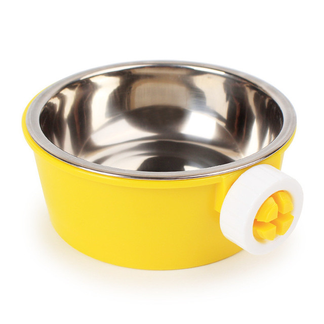 Stainless Steel Detachable Hanging Pet  Bowl