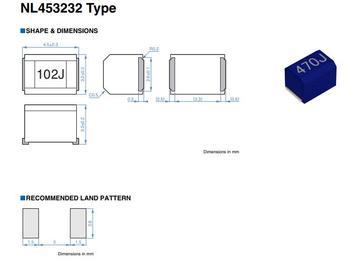 Free Shipping 500pcs/lot 1812 4532 5% FIXED IND 270UH 92MA 12 OHM NL453232T-271J-PF