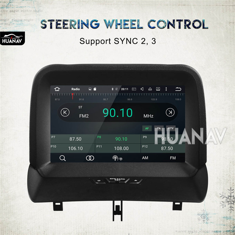 Pioneer radio volante adaptador interface para Ford Transit Custom Connect a partir de 2018
