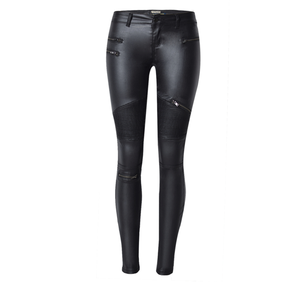 fa07ff74bdaac Dreamskull Women's Stretchy Skinny Motorcycle Pu Leather Pants Sexy Leggings-in  Leggings from Women's Clothing on Aliexpress.com   Alibaba Group