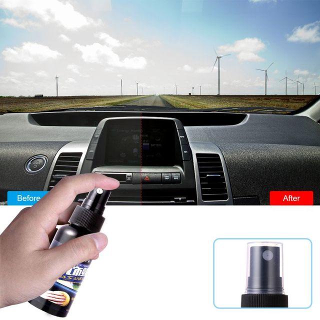 50ml Otomatik Boya Cilası Hidrofobik Kaplama Araba Iç Deri Koltuk Cam Plastik Bakım Temiz Deterjan Refurbisher