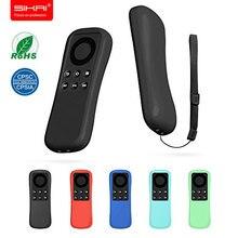 Funda remota SIKAI para Amazon Fire TV 4K Stick, funda de silicona estándar para control remoto para Amazon fire TV remoto (no operado por voz)
