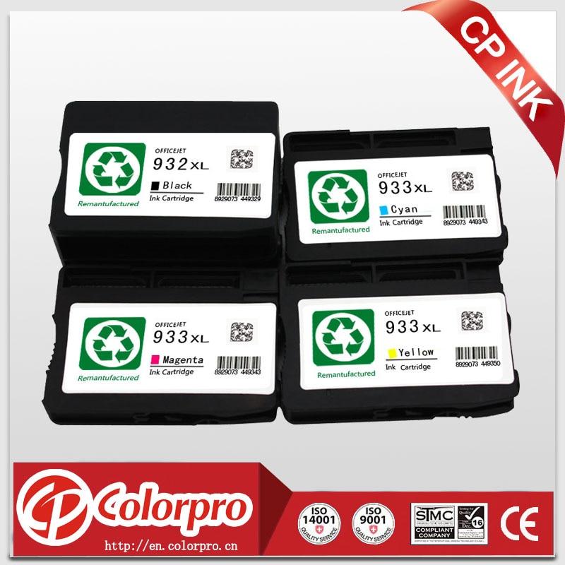 4 darab HP 932xl 933xl tintapatronra gyártott HP Officejet Pro 6100 - Irodai elektronika - Fénykép 2