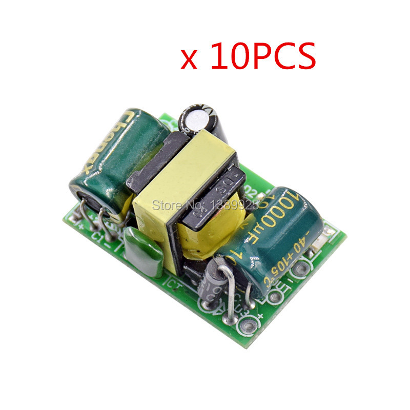 10pcs/lot 5V 700mA (3.5W) Isolated Switch Power Supply Module AC-DC Buck Step-down Module 220V Turn 5V