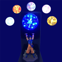 Newest Dragon Ball Goku Strength bombs Creative Table Lamp LED Bedroom Toilet Decorative Lighting Kid Holiday Gifts Night Light