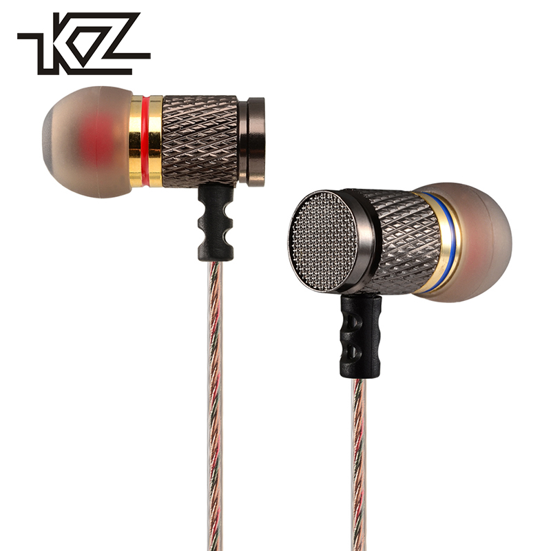 KZ EDR1 Hifi Wired In Ear Earpiece In-ear Earbuds Earphones For Phone iPhone Player Headset Headphone With Microphone Kulakl K metal wired earphone high bass dual drive hifi in ear earphones with microphone sport headset earbuds for iphone xaiomi samsung