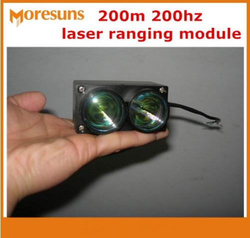 Бесплатная доставка UART (TTL Леве) /SPI/RS485/RS232/200 м 200 Гц лазерной начиная модуль/лазерный дальномер Сенсор/лазерный измерения расстояния Сенсор