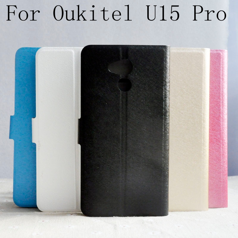 Case For Oukitel U15 Pro U15S U2 U13 Silk Pattern Fashion <font><b>Flip</b></font> Open <font><b>Smartphone</b></font> PU Leather Cover