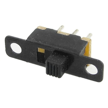 JFBL Hot 50 Pcs x DC 50V 0.5A 2 Position 1P2T SPDT Panel PCB Vertical Slide Switch 3 Pin