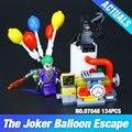 Lepin 07048 Nueva Genuino Serie de Películas de Batman The Joker Globo Conjunto de Escape 70900 Bloques de Construcción Ladrillos de Juguetes Educativos