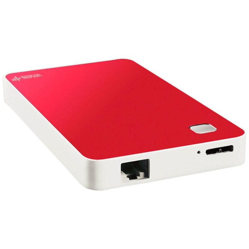 Disque Dur WIFI HDD 1 to Disque Dur Externe sans fil WIFI Externe livraison gratuite pas cher