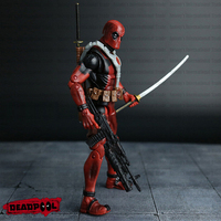 Deadpool Action Figure Red Color 6 inches Classic Edition 3