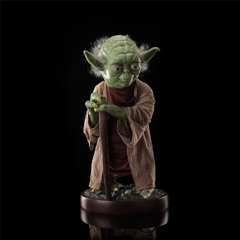 85cm Star Wars Jedi Knight Master Yoda action figure PVC toys collection doll anime cartoon model for friend gift цена