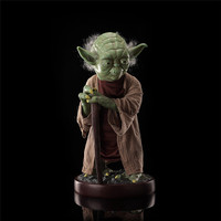 85cm Star Wars Jedi Knight Master Yoda action figure PVC toys collection doll anime cartoon model for friend gift