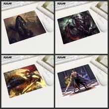 KULIAI последний символ доспехи воина игры декоративные Мышь Pad быстро противоскользящие Мышь площадку для Mortal Kombat Hearthstone