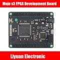 Mojo v3 Совет По Развитию ПЛИС/FPGA Spartan 6 XC6SLX9 бесплатная доставка