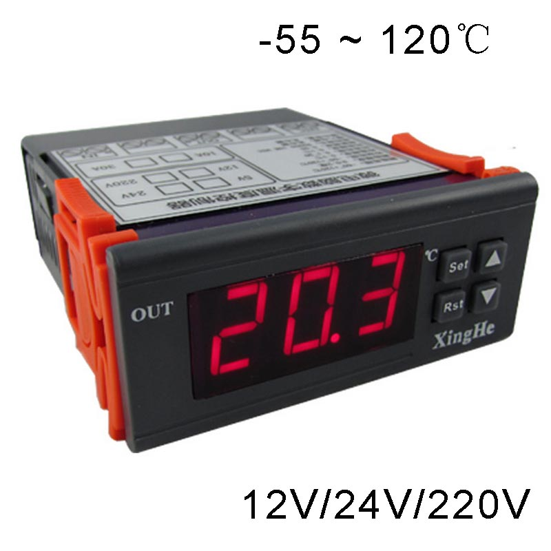 55`120 Celsius degree full temperature controller for heating or