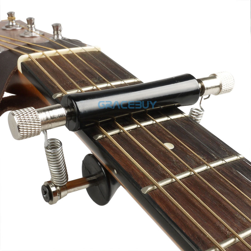 Guitar Rolling Capo Glider Capo, Slides up & down quick n easy capotraste New