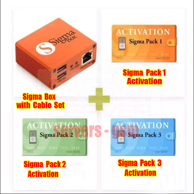 HOT SALE] sigma box +Pack1+Pack2 +Pack3 Actived For Huawei