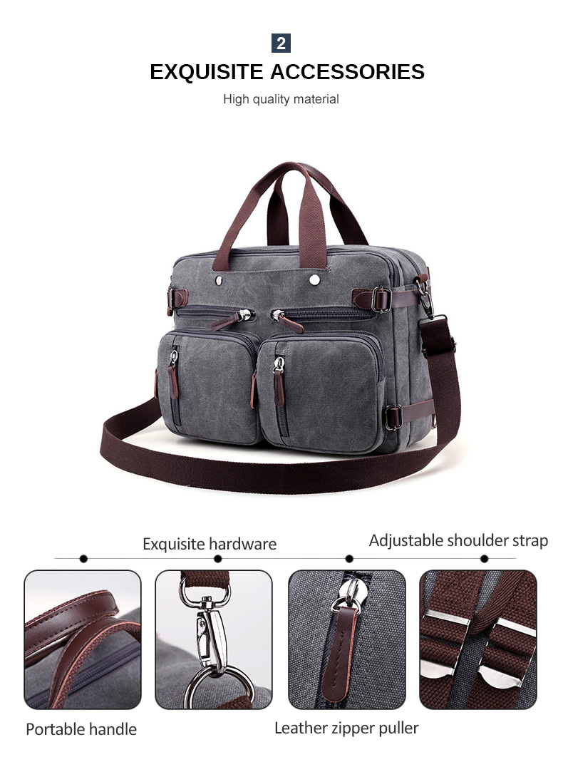HTB1hLSfaUvrK1RjSspcq6zzSXXa6 Men Canvas Briefcase Business Laptop Handbag Large Messenger Shoulder Bag Big Casual Male Tote Back Bags Travel Suitcase XA162ZC