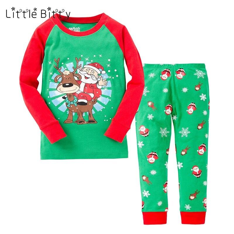 nuovo concetto 5083a 1bedb US $7.35 44% di SCONTO|2019 Del Bambino Di Natale Pigiama Pijama Unicornio  Infantil Di Natale Pigiama per 2 8 Anni Pigiama Fille Bambini bambino di ...