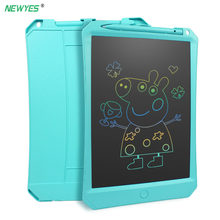 "NEWYES 10"" lcd writing tablet Digital Drawing Tablet Handwriting Pads electronic writing Board memo message board Color screen(China)"