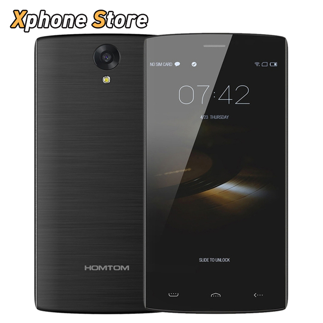 Homtom ht7 pro android 5.1 4g lte fdd-5.5 pulgadas 16 gb rom 2 gb MTK6735P RAM Teléfono Móvil Quad Core 1.3 GHz Dual SIM GPS Teléfono Celular