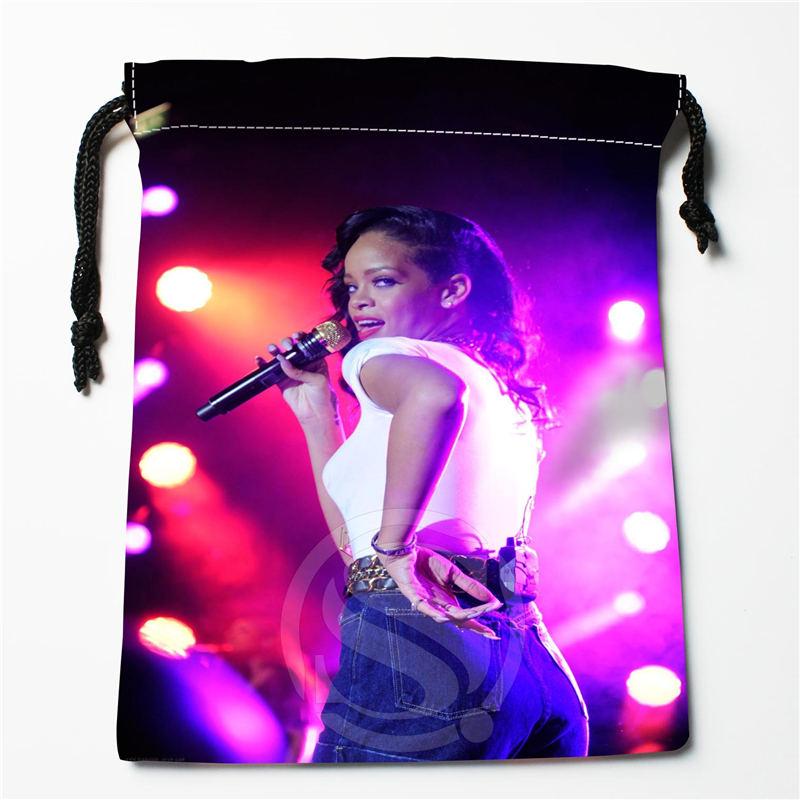 W-151 New Rihanna &F Custom Logo Printed  Receive Bag  Bag Compression Type Drawstring Bags Size 18X22cm R801R151RF