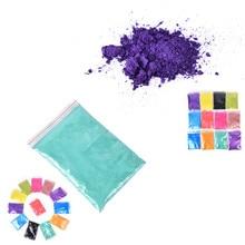 10 г/50 г здоровая Натуральная Минеральная пудра MICA порошок сделай сам для мыла краситель для мыла макияж мыло для век Пудра уход за кожей 12 цветов