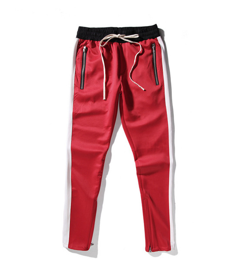 S-XXL Pants biker Loose Trousers Higt Street Justin Biebe Long Pants Men Casual Drawstring Tracksuit Joggers Sweat Pants