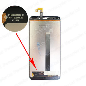 Image 2 - UMI Super LCD Display+Touch Screen Digitizer+Middle Frame Assembly 100% Original New LCD+Touch Digitizer for Super F 550028X2N