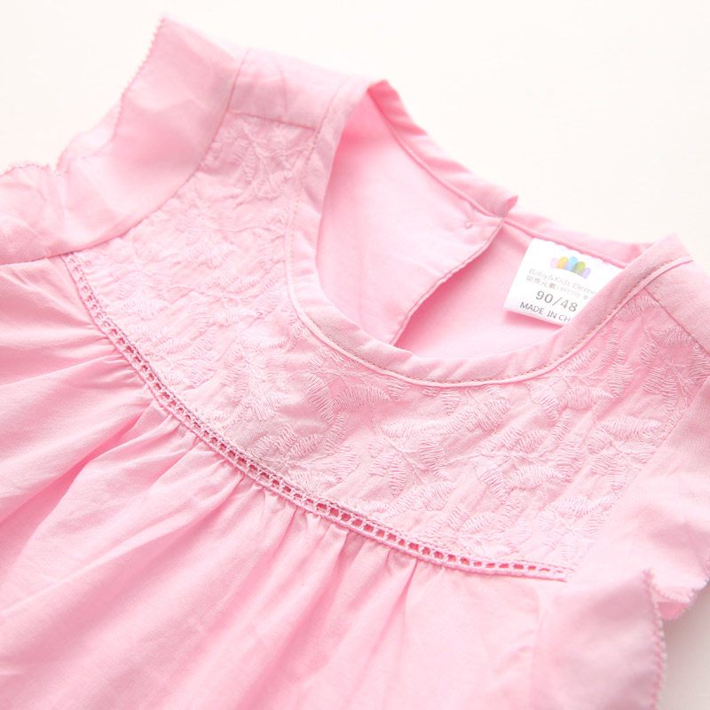d439523ff4d1 Toddler Dress Girl 2018 New Arrival Casual Embroidery Summer Dress For Girl  Sleeveless O neck Simple Kids Clothes 2937W-in Dresses from Mother & Kids on  ...