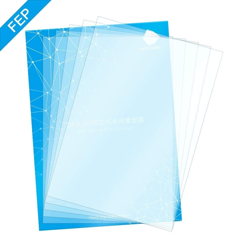 DLP 3d Printer Parts FEP Film 140x200mm Fep Sheets 0.15-0.2mm For ANYCUBIC Photon Resin UV Light 3D Printers Impresora