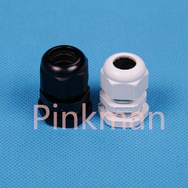 50pcs Germany PG Style White PG11 Nylon Cable Glands