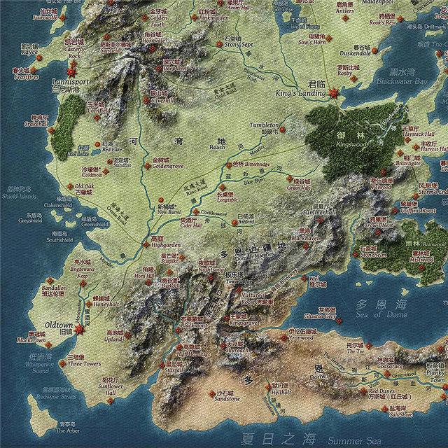 Vintage Map Poster  3