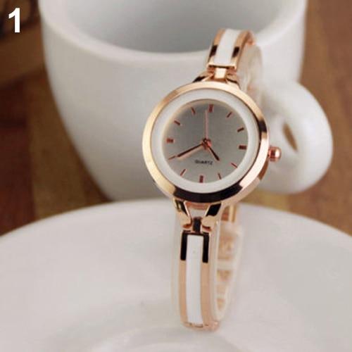 Women fashion New Elegant Princess Ladies Quartz Analog Bracelet Wrist Watch 096N stylish bracelet band women s quartz analog wrist watch coffee golden 1 x 377