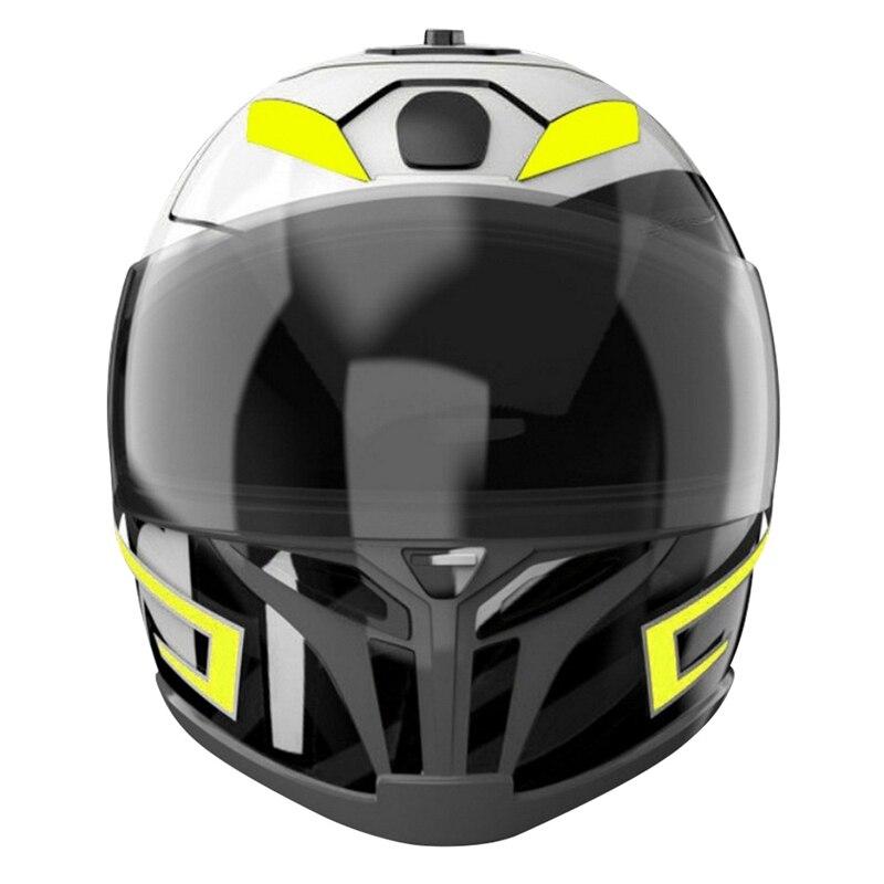 DIY Motorrad Helm LED Licht Streifen Lampe Aufkleber Gürtel Nacht Reiten Sicherheit Signal Wasserdichte Helm Kit Bar Blinkende Streifen